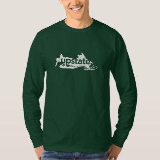 upstate langes Hülsen-Shirt des Schlittens Shirts