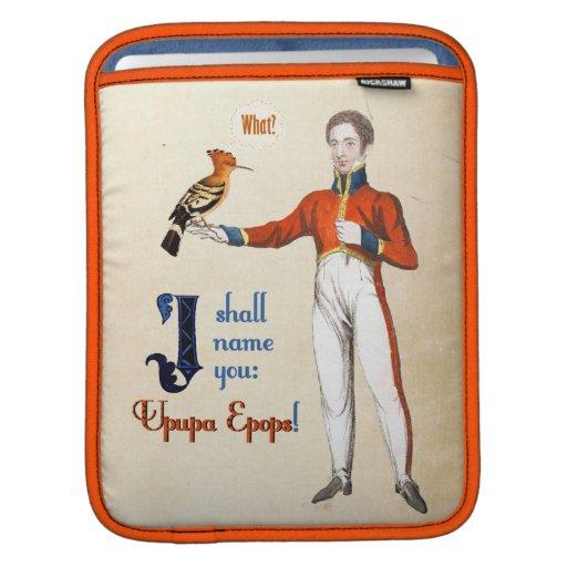 Upupa Epops iPad Sleeve