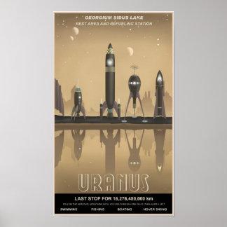 Uranus-Erholungshalt Poster