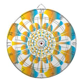UrbnCape Kap-Blume Mandala DrahtDartboard Dartscheibe