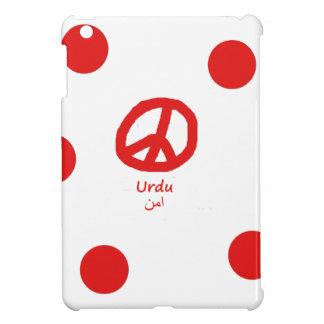 Urdu-Sprache und Friedenssymbol-Entwurf iPad Mini Hülle