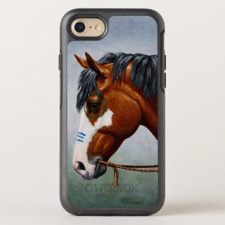 Ureinwohner-Buchtpinto-Schlachtross OtterBox Symmetry iPhone 8/7 Hülle