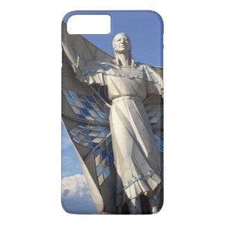 Ureinwohner-Frauen-Statue iPhone 8 Plus/7 Plus Hülle