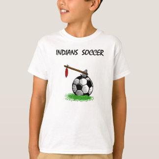 Ureinwohner-Fußball T-Shirt