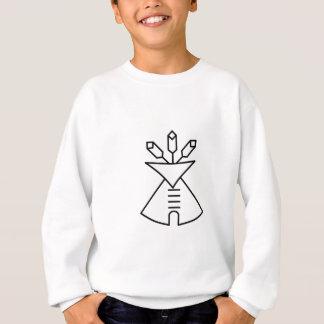 Ureinwohner-Kirchen-Symbol Sweatshirt