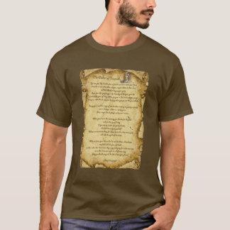 Ureinwohner-Klugheit von HauptTecumseh T-Shirt
