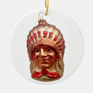 Ureinwohner-Leiter Keramik Ornament