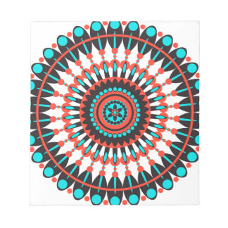 Ureinwohner-Mandala Notizblock