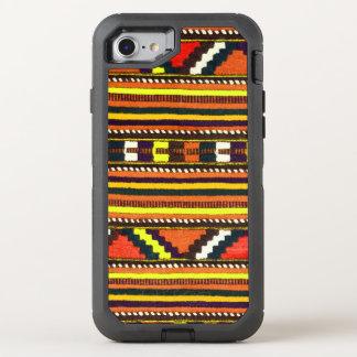 Ureinwohner-Navajo-Indergelbentwurf OtterBox Defender iPhone 8/7 Hülle