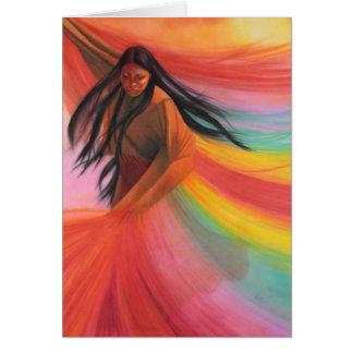 Ureinwohner-Papierprodukte Grußkarte