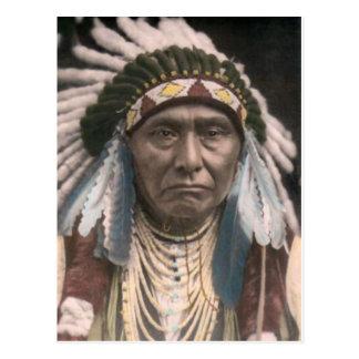 Ureinwohner-Postkarte Postkarte