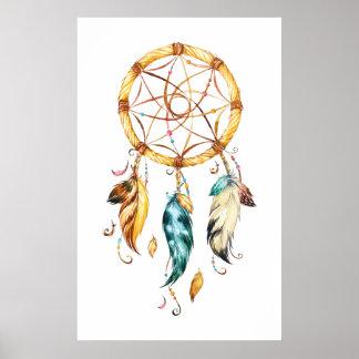 Ureinwohner-Reihe Dreamcatcher 1 Poster