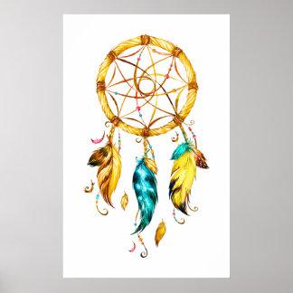 Ureinwohner-Reihe Dreamcatcher 2 Poster