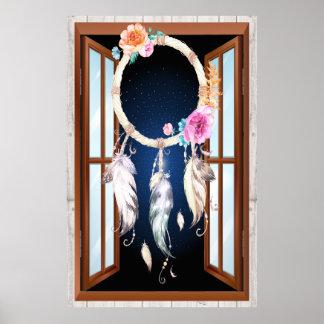 Ureinwohner-Reihe Dreamcatcher 5 Poster