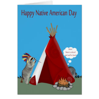 Ureinwohner-Tag Karte