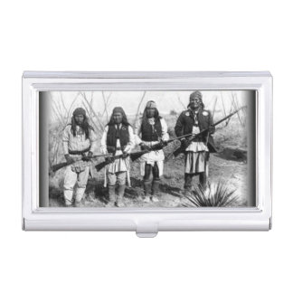 Ureinwohner-Visitenkarte-Halter Visitenkarten Dose