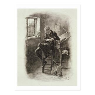Uriah Heep, von 'Charles Dickens: Ein Klatsch Postkarte