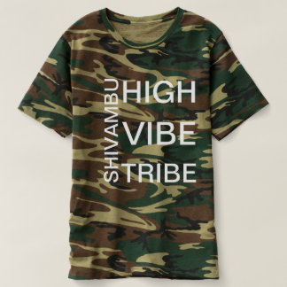Urin-Therapie Shivambu hohes Vibe-Stamm-Shirt T-shirt