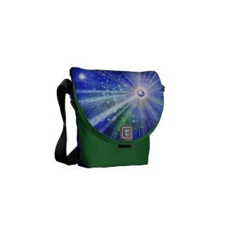 Urknall im Universum mit Sternen Kurier Tasche