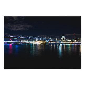 Ursa Major über London Fotodruck