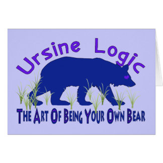 Ursine Logikswag-Logo Karte