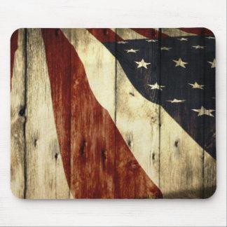 Ursprüngliche Americanawoodgrain amerikanische Mousepads