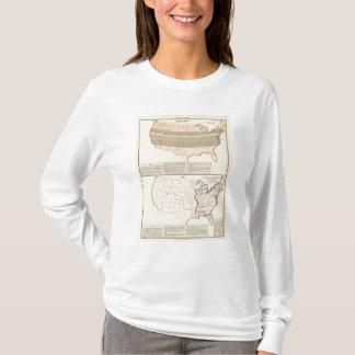 Ursprüngliche Bewilligungen von 1776 vereinbartem T-Shirt