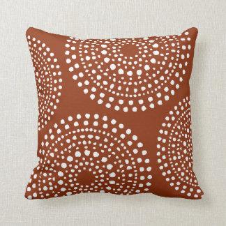 Ursprüngliche Boho Mosaik-Muster-Terrakotta Kissen