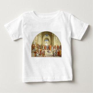 """Ursprüngliche Farbe """"die Schule von Athen"""" durch Baby T-shirt"""