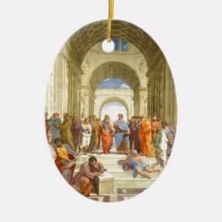 """Ursprüngliche Farbe """"die Schule von Athen"""" durch Keramik Ornament"""