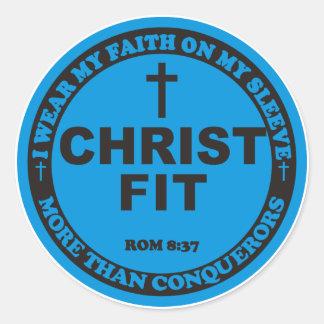 Ursprüngliche geeignete Aufkleber Christus