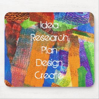 Ursprüngliche inspirierend Collagen-Kunst Mousepad