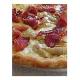 Ursprüngliche italienische Pizza Postkarte