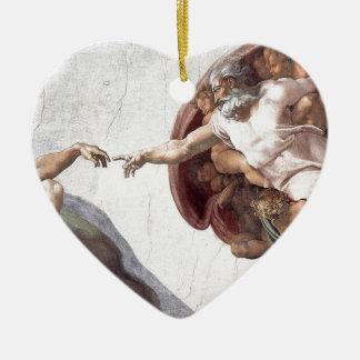 Ursprüngliche Michelangelo-Farbe in sistin Kapelle Keramik Ornament