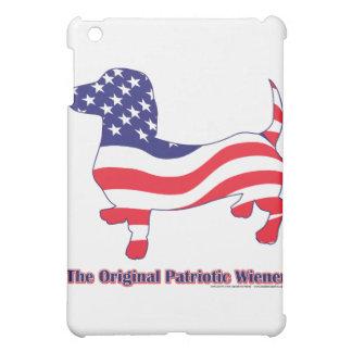 Ursprüngliche patriotische Dackel/Dackel iPad Mini Hülle