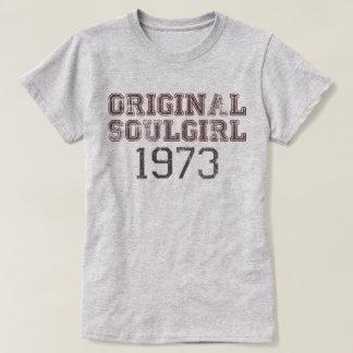 Ursprüngliche Soulgirl 1973 Retro T-Shirt