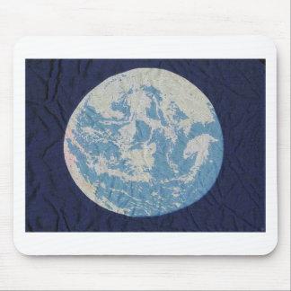 Ursprüngliche Tag der Erde-Flagge Mousepads