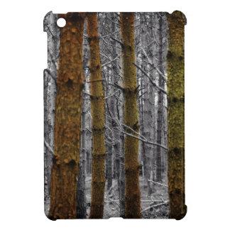 Ursprüngliche Western-Land-Tarnungs-Kiefern-Bäume iPad Mini Hülle