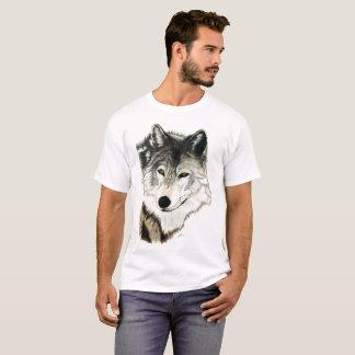 Ursprüngliche Wolf-Kunst T-Shirt