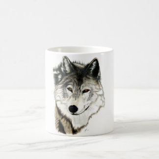 Ursprüngliche Wolf-Kunst-Tasse Kaffeetasse
