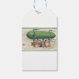 Ursprünglicher Heiligen Patrick TagesVintages Geschenkanhänger