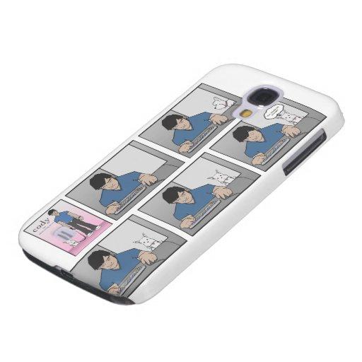 Ursprünglicher Kasten der Cody Comic-Galaxie-S4 Galaxy S4 Hülle