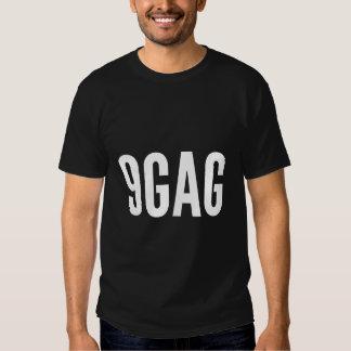 Ursprünglicher T - Shirt des Logos 9gag - gerade