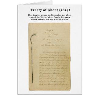 URSPRÜNGLICHER Vertrag von Notfall Gent-8. 218 Karte