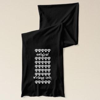 Ursprünglicher Vintager Goth Schädel-Schal Schal