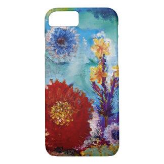 Ursprüngliches abstraktes Kunst-Wasserstück iPhone 8/7 Hülle