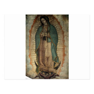 Ursprüngliches Bild unserer Dame von Guadalupe Postkarte