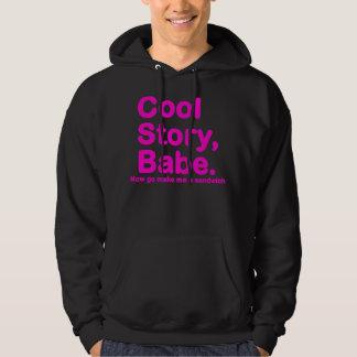 URSPRÜNGLICHES cooles Geschichten-Baby gehen jetzt Hoodie