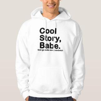 URSPRÜNGLICHES cooles Geschichten-Baby gehen jetzt Kapuzensweatshirt