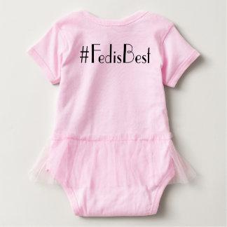 Ursprüngliches Fed ist bester Logotutu-Bodysuit Baby Strampler